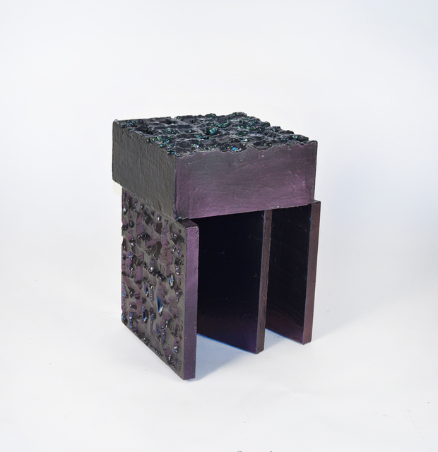 , 'Metallic Stool 2,' 2016, 315 Gallery