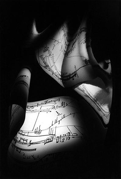 ", 'Score by William R. Maginnis Jr. ""Extention No.1""  ,' 1998, Bernheimer Fine Art"