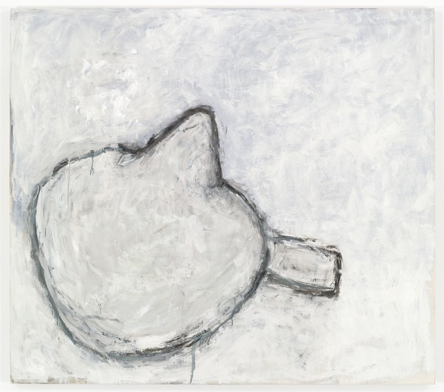 , 'White on White Head,' 2009, Sperone Westwater