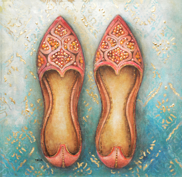 Janet Brignola-Tava, 'Walk a Mile in Her Shoes', 2019, The Galleries at Salmagundi