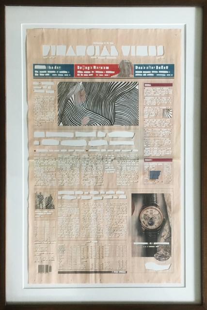 , 'Historic Regret (Timepieces of Distinction),' 2018, Gypsum Gallery