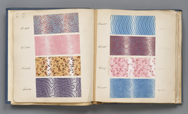 , 'Sample Book,' 1845-1860, Cooper Hewitt, Smithsonian Design Museum
