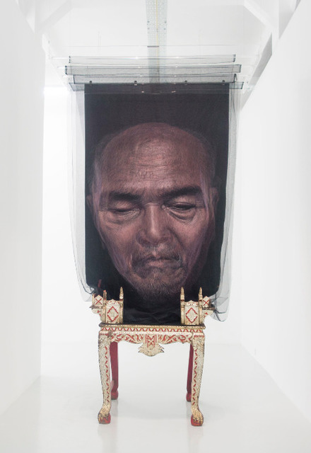 , 'My Buddhist Saint (Dad),' 2015, Yavuz Gallery