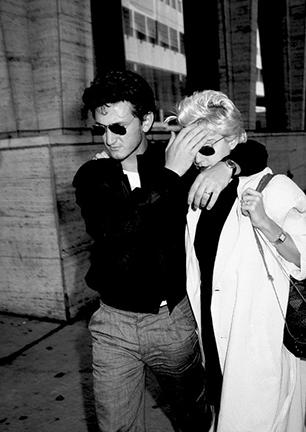 Sean Penn and Madonna, Lincoln Center, New York