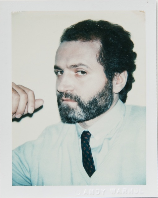 Andy Warhol, 'Andy Warhol, Polaroid Portrait of Gianni Versace', 1980, Hedges Projects