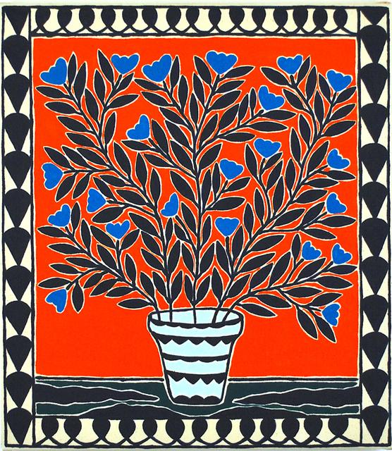 , 'Blue Orchids,' 2019, Hans Alf Gallery