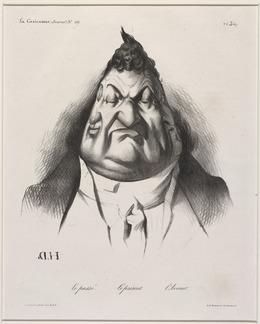 Honoré Daumier, 'Le passé - Le présent - l'Avenir', 1834, National Gallery of Art, Washington, D.C.