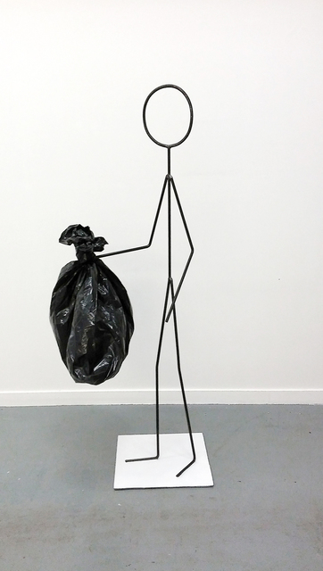 Oscar Figueroa, 'Untitled (Here Is Just Garbage)', 2015, Robert Kananaj Gallery