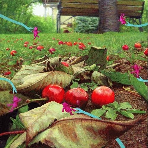 , 'Cherry Brandy,' 2015, RuArts Gallery
