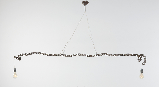 Franz West, 'Untitled (Hanging Lamp)', 1991, Phillips