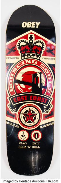Shepard Fairey (OBEY), 'Bouncing Souls', 2005, Heritage Auctions