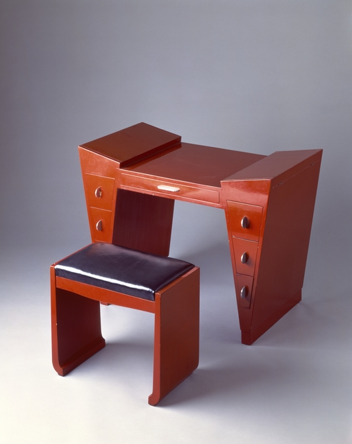 after Léon Jallot, 'Dressing table and bench', 1929, Cooper Hewitt, Smithsonian Design Museum