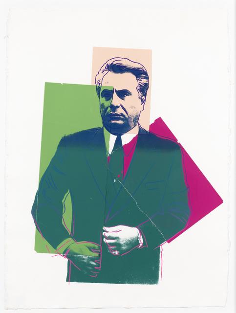 Andy Warhol, 'John Gotti', 1986, Leslie Sacks Gallery