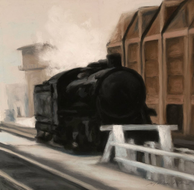 , 'Train,' , William Baczek Fine Arts