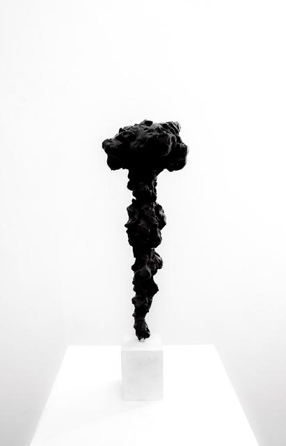 , 'Black Totem no. 4,' 2017-2018, Dellasposa