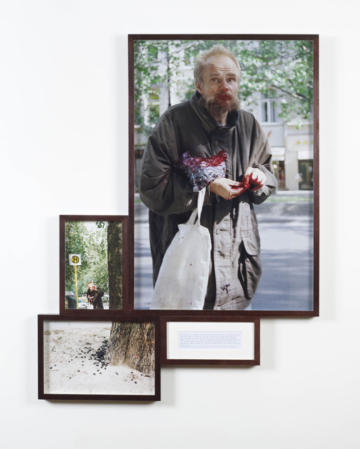 , 'Man with Cherries from the series Look at me I look at Water,' 1999, SPROVIERI