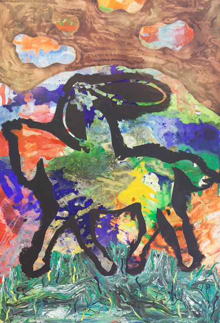 Bedri Baykam, 'The Cowboy with the Lasso ', 2015, Piramid Sanat