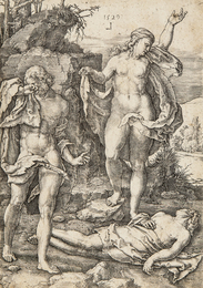 Adam and Eve Lamenting the Dead Abel, from The Story of Adam and Eve