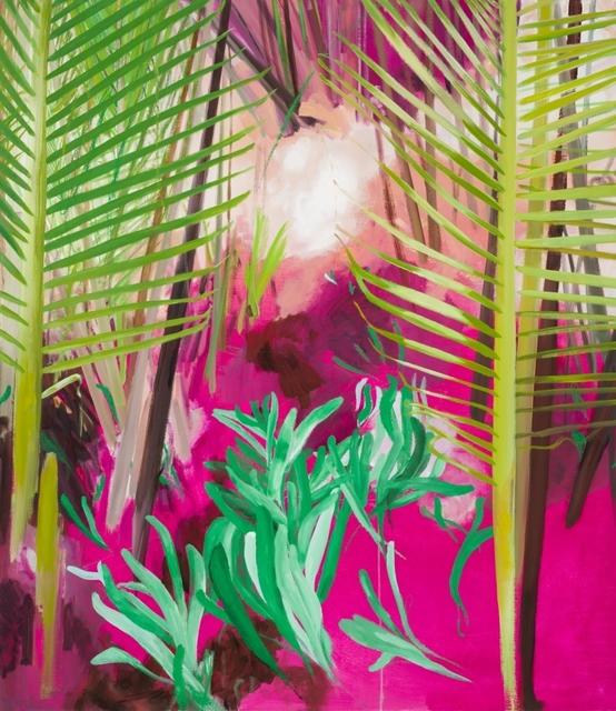 Yvette Kießling, 'Wasserpalmen', 2018, Galerie Schimming