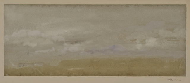 Arthur Bowen Davies, 'Cloudscape', ca. 1922, Private Collection, NY