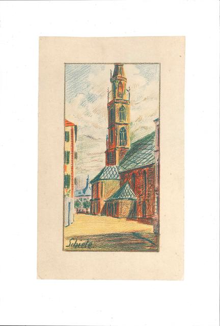 , 'Kirche von Bozen,' 1990, Wallector