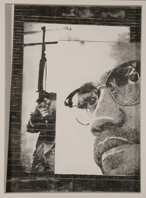, 'no.10 - Untitled (Malcolm X),' 2008, Le Guern Gallery