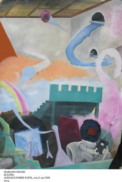 , 'Eclipse,' 2014, Abate Galería