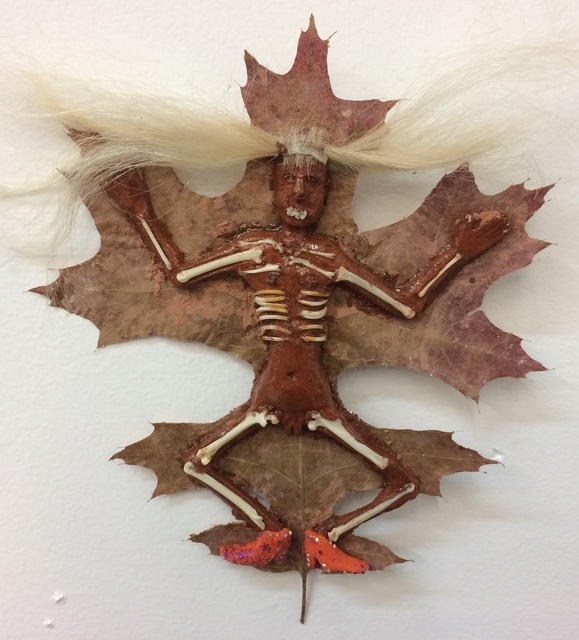 , 'Leaf Lady (Orange),' 2016, Honey Ramka