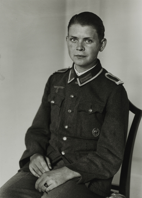 August Sander, 'Officer Cadet, c. 1944', Galerie Julian Sander