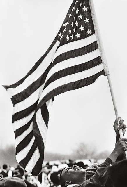 , 'Selma March, Flag,' 1965, Fahey/Klein Gallery