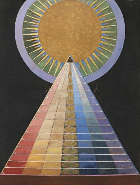 , 'Group X, No. 1, Altarpiece (Grupp X, nr 1, Altarbild),  from Altarpieces (Altarbilder),' 1915, Guggenheim Museum
