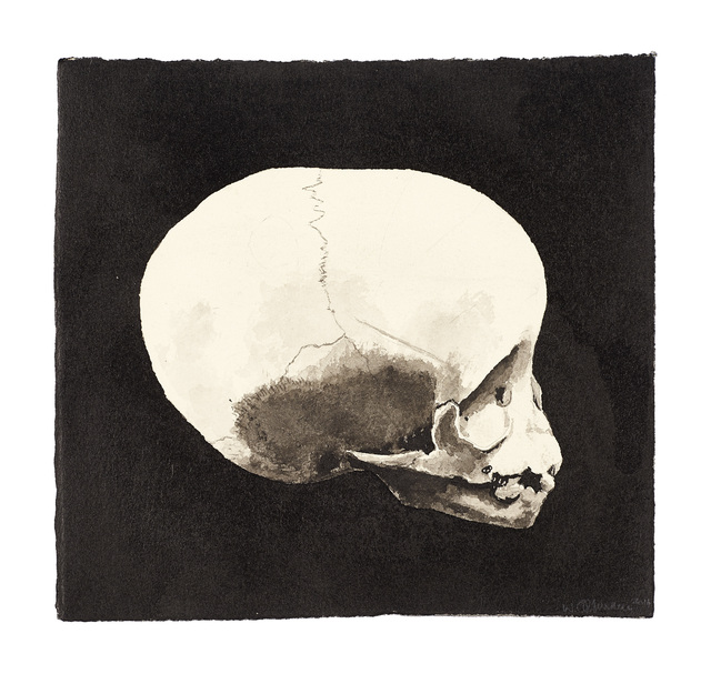 , 'Infant Skull I,' 2015, Goodman Gallery