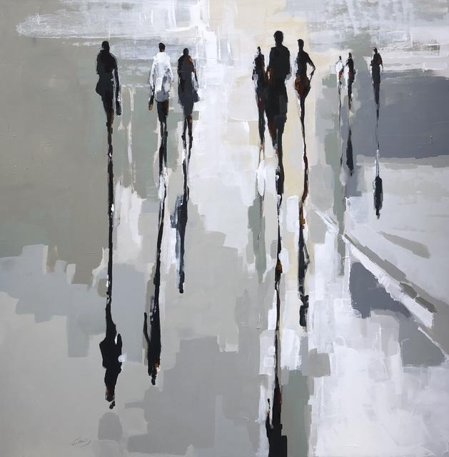 , 'Fragmented Lives,' 2019, Kurbatoff Gallery