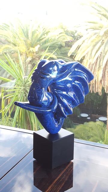 , 'Éléphantasme Bleu,' 2017, Samhart Gallery