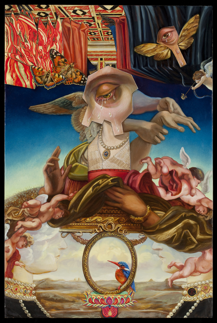 , 'Eternal Mother: Triumph of Divine Love,' 2015, La Luz de Jesus Gallery