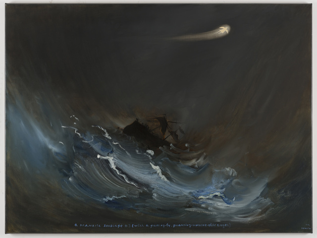 , 'D.The Romantic One, A Dramatic Seascape ,' 2014, Galleria Massimo Minini