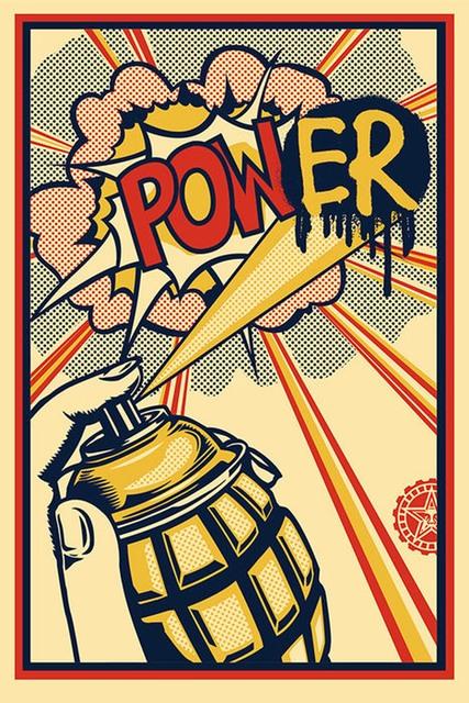 Shepard Fairey (OBEY), 'Power', 2013, EHC Fine Art Gallery Auction