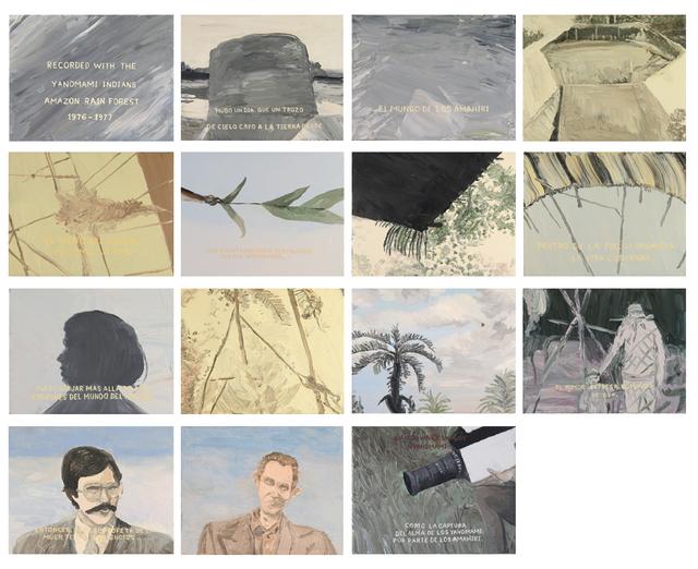 , 'Downey Yanomami (de transamerica vzla). Serie 3. El Shabono abandonado,' 2015-2016, Carmen Araujo Arte