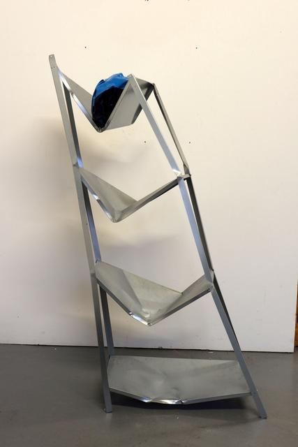 , 'Shelf with Nothing,' 2018, Galerie Krinzinger