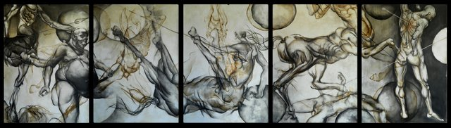 , 'Skirmishes III,' 2014, Renata Fine Arts