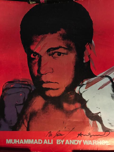 Andy Warhol, 'Muhammad Ali By Andy Warhol', 1978, Bertolami Fine Arts