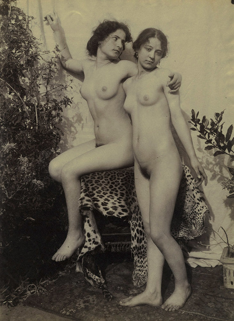 Nude young women