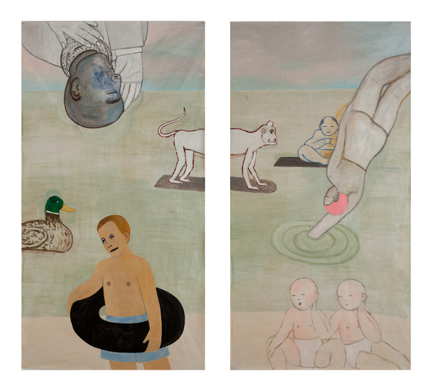 , 'The Monkey Makes No Waves,' 2016, James Harris Gallery