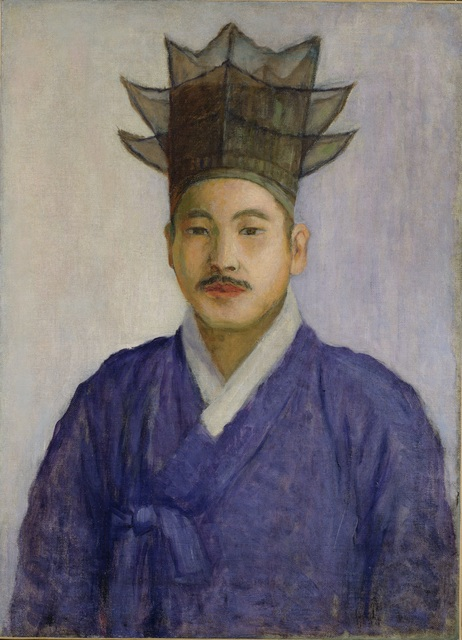 , 'Self-Portrait,' 1915, National Museum of Korea