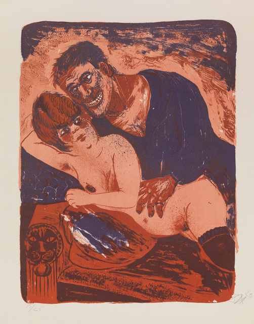 , 'MATROSE UND MÄDCHEN,' 1923, Jörg Maass Kunsthandel