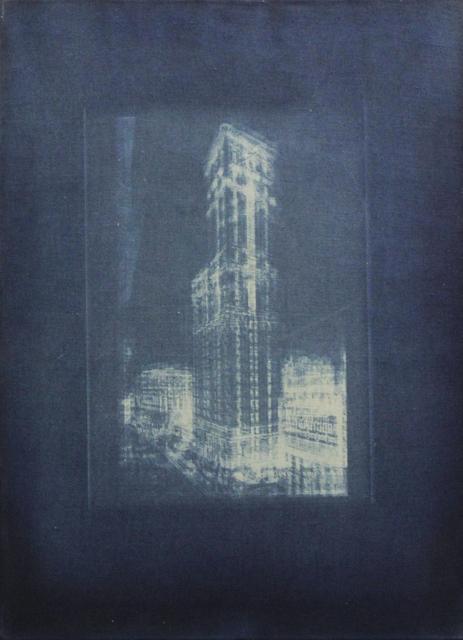 , 'Untitled (Times Building),' 2018, Christine König Galerie