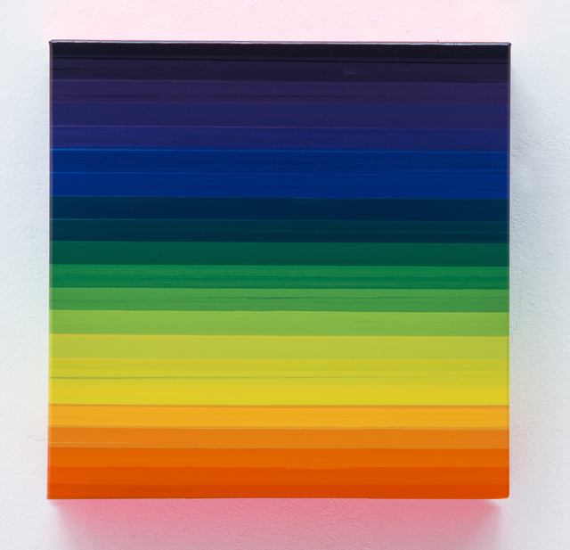 , 'Technicolor Square Lago,' 2016, Lange + Pult