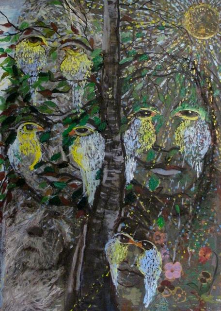 , 'Birds In My Head,' , Salwa Zeidan Gallery
