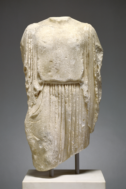 'Statue of a Kore (The Elgin Kore)', ca. 475 BCE, J. Paul Getty Museum