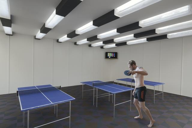 , 'Ping Pong Room, Camp Life Series,' 2011, Barbara Edwards Contemporary